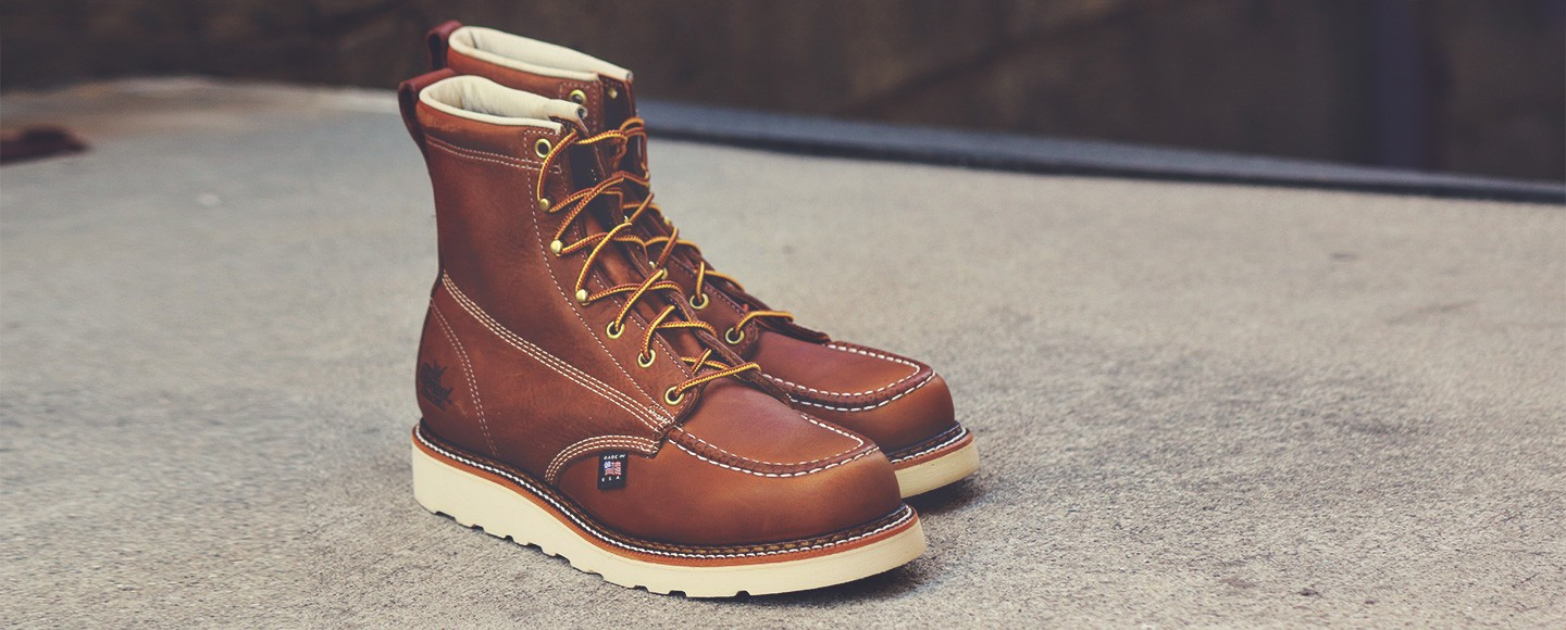 c4bcd088918 Thorogood 6 inch moc toe boot review