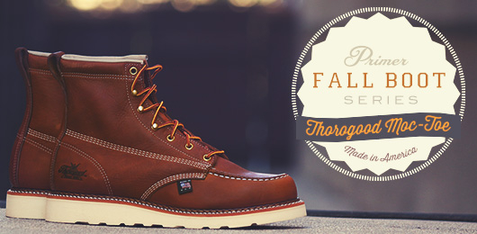 Fall Boot Series: Thorogood 6 Inch Moc Toe