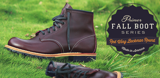 Fall Boot Series: Red Wing Beckman Round