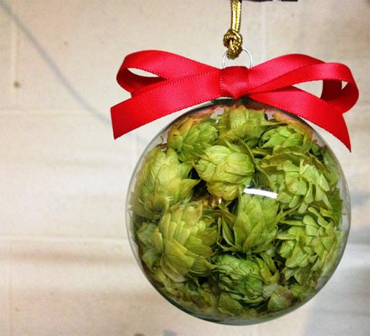 Hops Christmas ornament