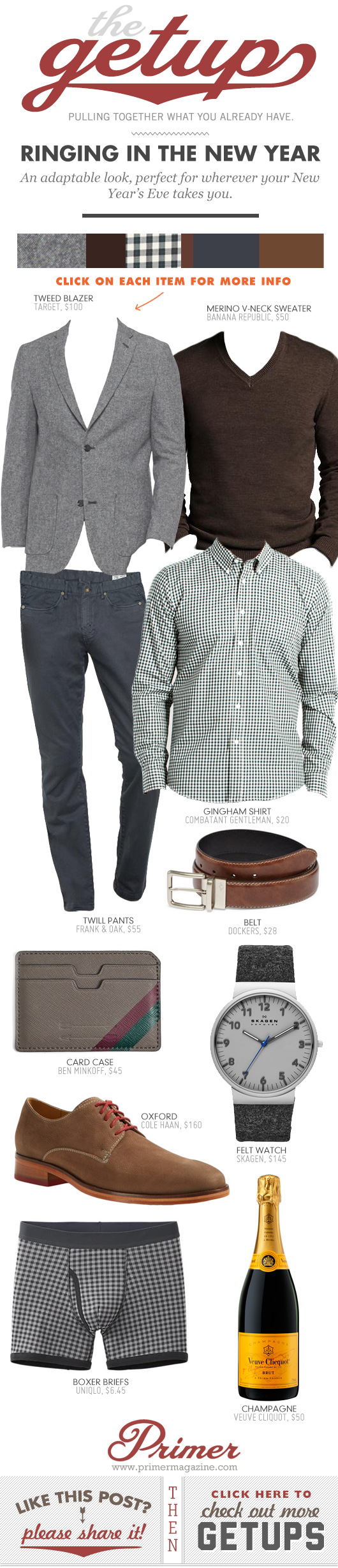Getup - Ringing in the New Year - blazer with sweater and button up shirt and dress pants