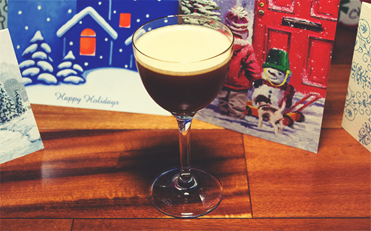 Ginger Snap cocktail holiday cocktail
