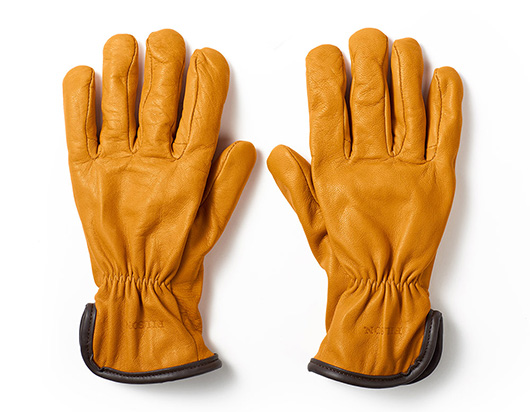 Filson leather gloves