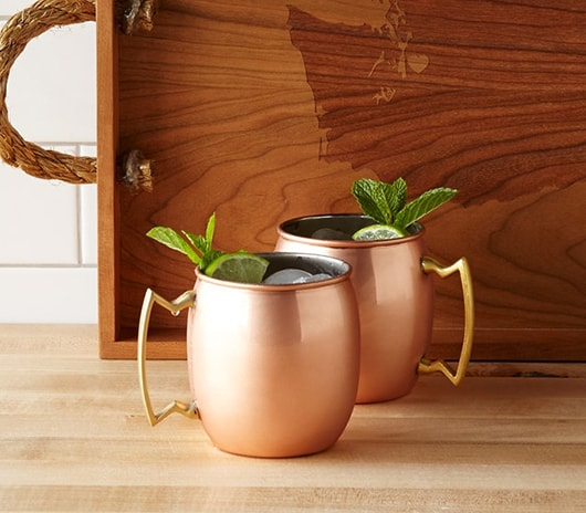 Moscow Mule Copper Mugs, 2 / $38