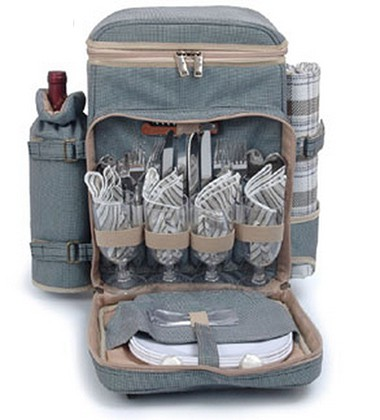 Picnic Backpack for 4, $90