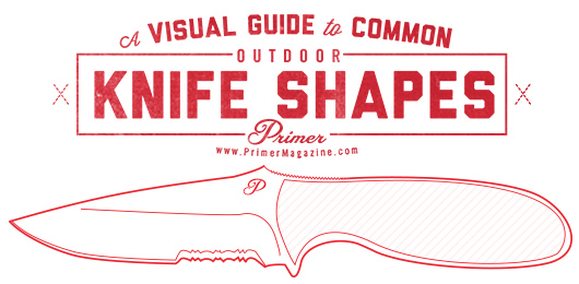 A Visual Guide to Common Outdoor Knife Shape