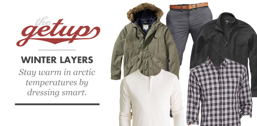 The Getup: Winter Layers
