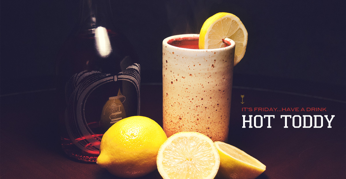 The Hot Toddy Cocktail Recipe: A Hot Rum Cocktail