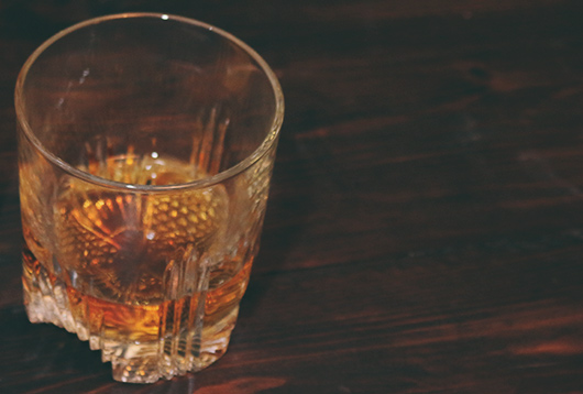 whiskey tasting winter date idea