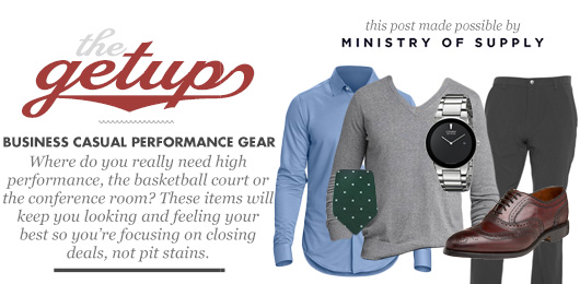 The Getup: Business Casual Performance Gear