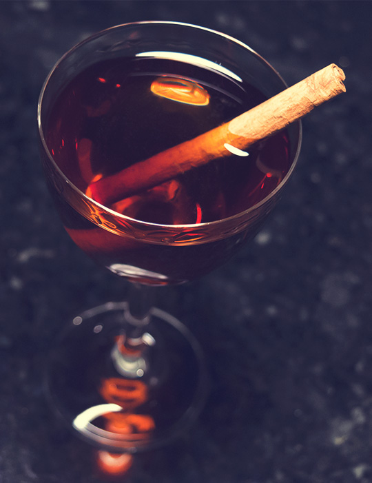 Valentine's day cocktails - Corazon cocktail recipe