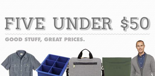 5 Under $50 – March 16, 2015