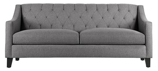 Gray jackson sofa