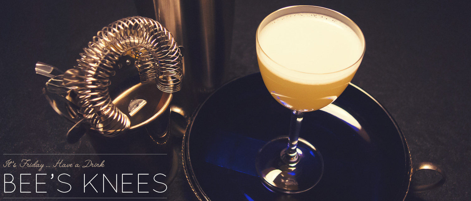 The Bee's Knees Cocktail Recipe: A Honeyed Gin Craft Cocktail