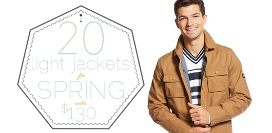 20 Light Jackets for Spring Under $130