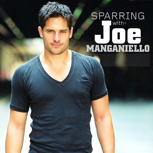 Joe Manganiello posing for the camera