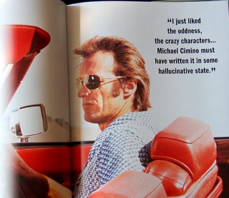 Clint Eastwood wearing glasses