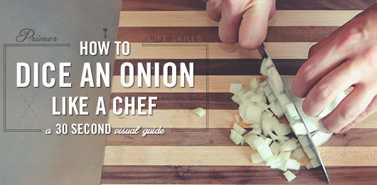 How to Dice an Onion Like a Chef – A 30 Second Visual Guide