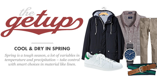 The Getup: Cool & Dry in Spring