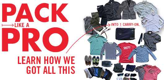 Pack Like a Pro: Learn How We Got All This into ONE Carry-on