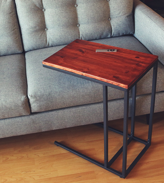 Make This Mid Century Modern Side Table For Less Than 56