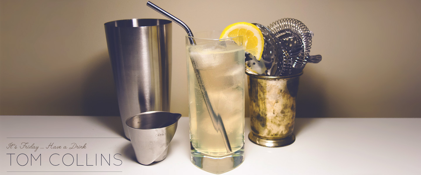 The Tom Collins Cocktail Recipe: A Sparkling Gin Lemonade Cocktail
