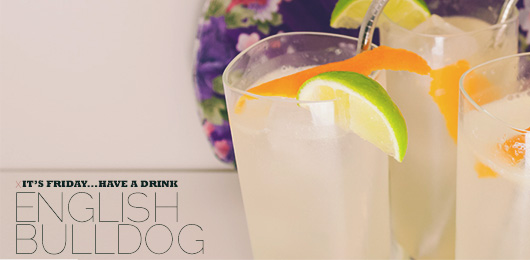 It's Friday … Have a Drink: English Bulldog