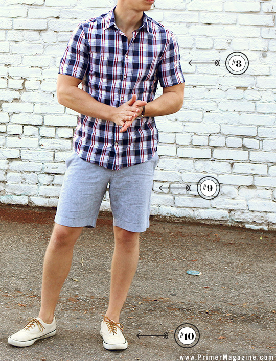 mens summer fashion light outfit