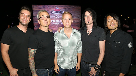 Andrew Snavely with Everclear