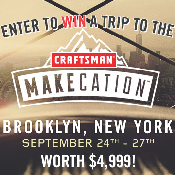 craftsman makecation giveaway