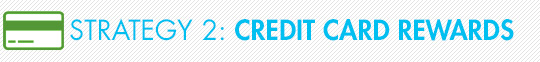 Strategy 2: Credit Card Rewards