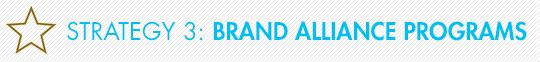 Strategy 3: Brand Alliance Programs