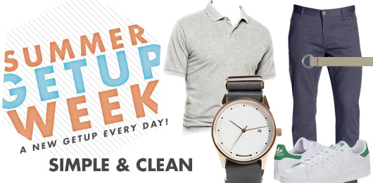 Summer Getup Week: Simple & Clean