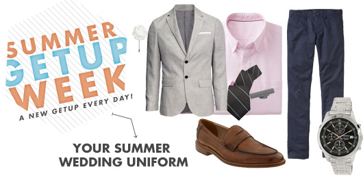 Summer Getup Week: Your Summer Wedding Uniform