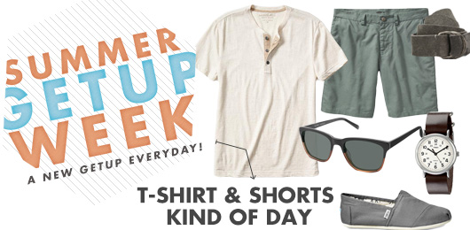 Summer Getup Week: T-shirt & Shorts Kind of Day