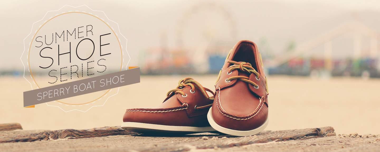Mens Tan Boat Shoes
