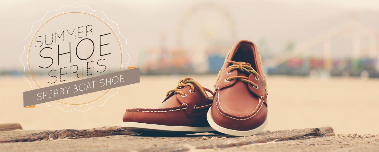 Summer Shoe Series: Sperry Boat Shoe