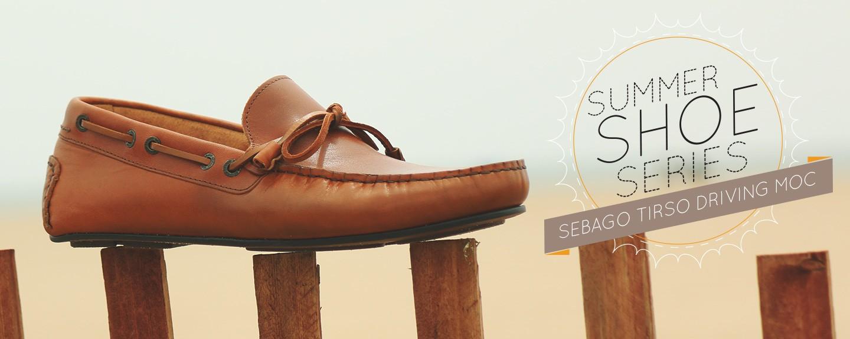 Summer Shoe Series Sebago Tirso Driving Moc Primer