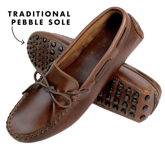 pebble sole driving moc