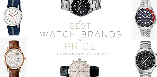 The Best Watch Brands by Price