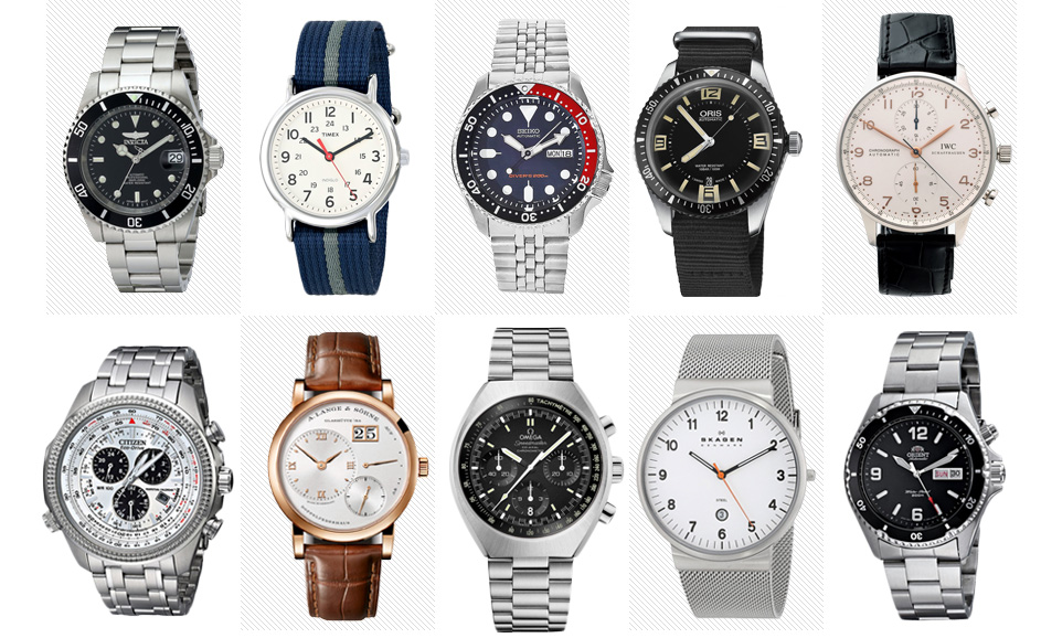 Watches Brands List