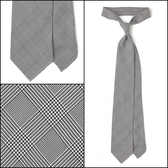 essential tie gray glen plaid prince of wales