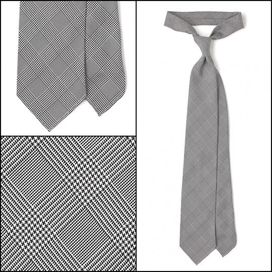 essential tie gray glen plaid prince of wales
