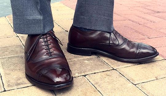 calf shoe care
