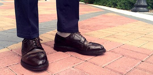 cordovan shoe care