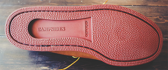 blucher moc pebble sole