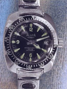 Alsta Jaws Hooper Dive Watch