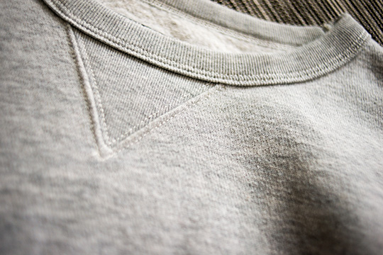 Gray Crew Sweatshirt