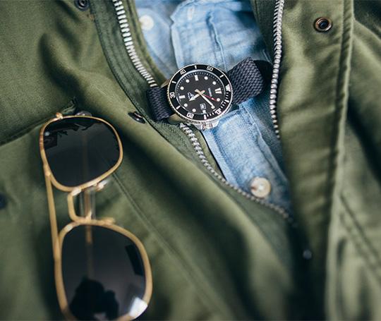Jaws Quint Watch Sunglasses