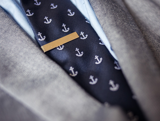 prep nautical tie and tie bar